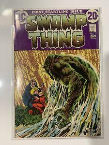 Swamp Thing 1 1972 Bernie Wrightson Sweet Book!