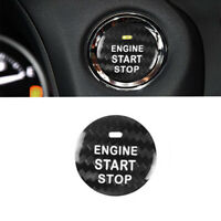 Carbon Fiber Engine Start Stop Button Cover Sticker For Subaru BRZ Crosstrek WRX