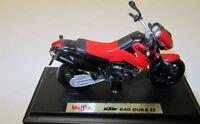 Modell Motorrad 1:18 KTM 640 Duke II rot  Maisto