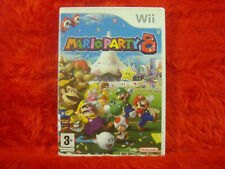 wii MARIO PARTY 8 PAL Very Good Condition
