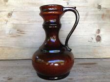 UNBEKANNT Vase / Mid-Century German Pottery / sign/size 262 20 cm