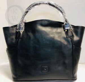 NWT*Dooney & Bourke*BLACK Florentine* Kristen Tote*20003Z S228 $498