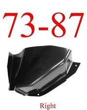 73 87 Chevy Right Air Vent Cowl Repair Panel, Truck, Blazer, Suburban, Crew Cab