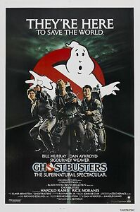 Ghost Busters 1984 Vintage Movie Poster A0-A1-A2-A3-A4-A5-A6-MAXI 440