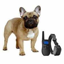 300 Yard Waterproof Shock Vibra Remote Training Collar for Small Med Large Dog