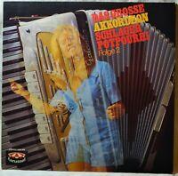 Das Grosse Akkordeon Schlager Potpourri LP NM Vinyl Accordion Love Story ABC