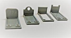 MODEL SCENERY '00' GAUGE 'GRAVE STONES x 4  3D PRINTED BIN £4.99 inc P/P