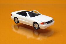 Herpa 028851 MERCEDES-BENZ 500 SL (r129) Blanc-White