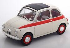 1:18 Solido Fiat 500 L SPORT 1960 Crème/Red