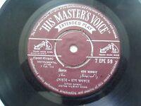 VILAYAT KHAN SITAR INSTRUMENTAL CLASSICAL HINDUSTANI rare EP RECORD 45 vinyl VG