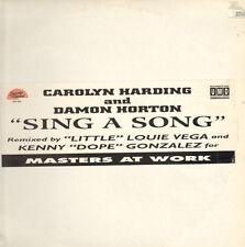 CAROLYN HARDING & DAMON HORTON - Sing A Song (B.O.P., Masters At Work Rmxs)
