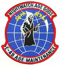 USAF 1st ACCS AIRBORNE COMMAND AND CONTROL SQUADRON NIGHT WATCH AGE GODS PATCH