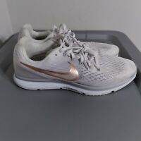 Nike Zoom Pegasus 34 Men's Size 10.5 Running Shoes Gray/White Athletic Sneakers