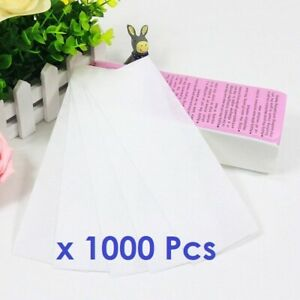 1000 x Paper Strips Wax waxing leg body non-woven best professional high quality
