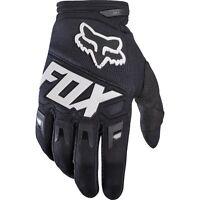 Guanti Adulto Fox Dirtpaw Race Mx Gloves Black Nero Bianco Cross Enduro MTB