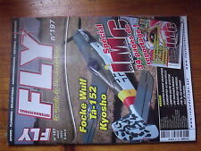 $$4 Revue Fly International N°197 Focke Wulf TA-152  Elektro Rookie  Funcopter V