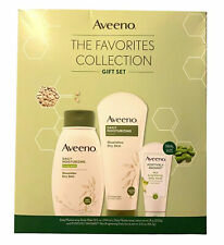 Lot of 1 Aveeno The Favorites Collection 3 Piece Gift Set.