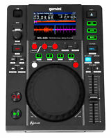 "Gemini MDJ-600 Single Tabletop USB/CD Media Player DJ MIDI Controller w/4.3"" LCD"