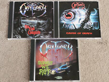 OBITUARY - The End Complete + Cause Of Death + Slowly We Rot - 3 CD SET