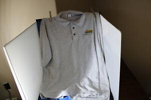 Hertz Light Gray, 2 XL, Cintas, Pre owned, Polo Shirt, FREE SHIPPING