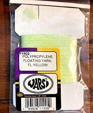 Wapsi Fluorescent Yellow Polypropylene Floating Yarn