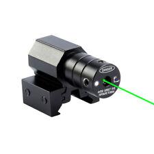 Mini Green Laser Beam Dot Sight For Gun Pistol Weaver Picatinny Rail Hunting
