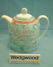 Wedgwood Variations Script Tea Pot 2.5pints -  Free P&P