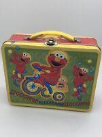 Tin Box Co Elmo Embossed Metal Lunch Box