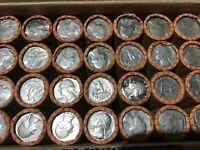 1 Rolle Quarter Dollar / 1/4 Dollar USA zirkuliert