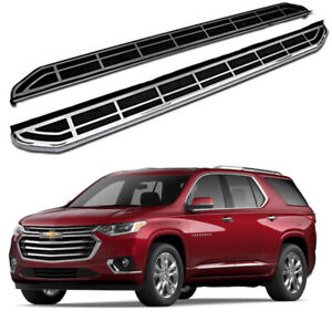 Running Board Side Steps Pedals Nerf Bar fits for Chevrolet Traverse 2018-2021