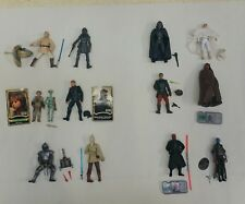 Star wars collection job lot of 12 which all appear complete (E)