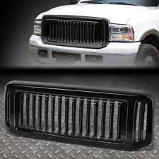 FOR 05-07 FORD F250 F350 SUPER DUTY BADGELESS FENCE STYLE FRONT BUMPER GRILLE