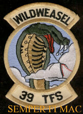39TH TFS WILD WEASEL PATCH F-4 PHANTOM US AIR FORCE PILOT CREW WING PIN UP GIFT