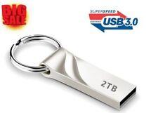 Pendrive 2 Tb 3.0 Flash Drives, Chiavetta Usb Pen DriveMetal Keychain