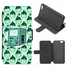 Beemo Adventure Time Cute Wallet Phone Case(For iPhone, Samsung)