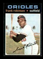 1971 Topps Set Break # 640 Frank Robinson NM *OBGcards*