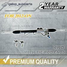 Power Steering Rack & Tie Rod Ends for Isuzu D-Max DMAX AWD 4WD 06/2012-06/2016