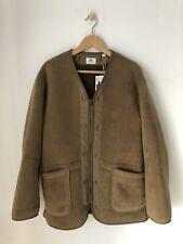 Engineered Garments x UNIQLO Fleece Collarless Coat Fleecejacke Liner Mantel L