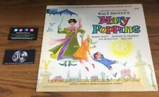 WALT DISNEY MARY POPPINS ILLUSTRATION BOOK AND RECORD PREOWNED