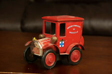 Vintage Tin Toy Fire Truck Made in Marseille France