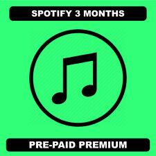 Spotify 3 months | Read Description | Instant Delivery