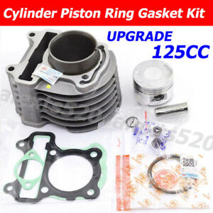 125CC BIG BORE Cylinder 53.5mm Piston Kit For Honda ZOOMER 110 X ACG110 2013-17