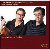 Egon Wellesz: Joanna Madroszkiewicz. Die Werke für Violine und Klavier (CD2008)