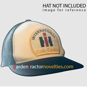 IH International Harvester Cub Cadet Garden Tractor Patch Hat Shirt Mens Decal
