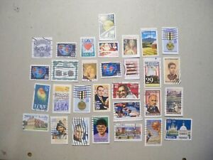 USA Used, 1991-92 Issues 30 Different Commemoratives.