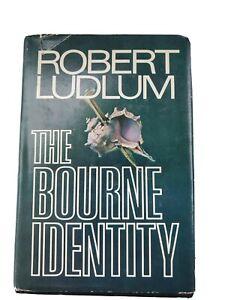THE BOURNE IDENTITY Robert Ludlum Hardcover DJ Book Club Ed First Edition 1980