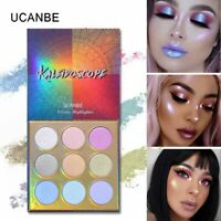UCANBE Duochrome Laser Polarized Eye Shadow Makeup Palette High-shine Glitter
