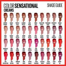 Maybelline Color Sensational Cream Lipstick, You Choose