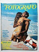 IL FOTOGRAFO N. 87/88 LUGLIO 1984 FABRIZIO FERRI - MODELLE SUB - JULIA CAMERON