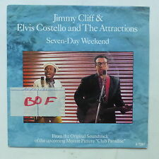 BO Film OST Club paradise JIMMY CLIFF ELVIS COSTELLO Seven day week end CBSA7287